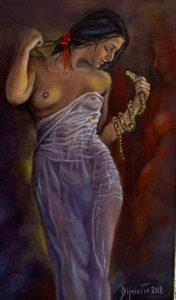 Cleopatra – olio su tela 18×24