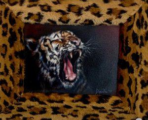 Tigre – olio su tavola 24×18